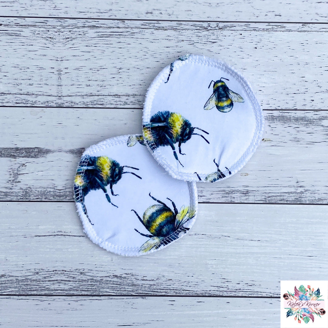 Bumble bee breast pads