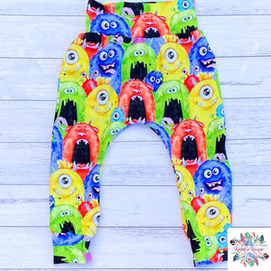Monster harem pants