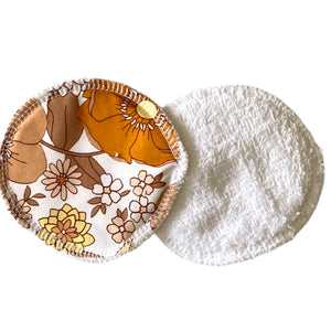 Retro Floral breast pads