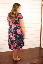 Navy Floral Swing (Extended Size)