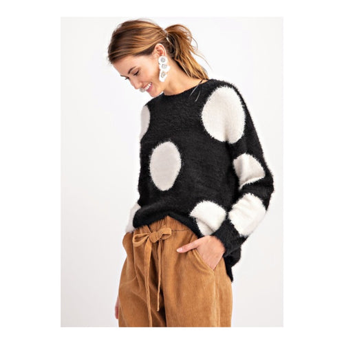 Cozy Dot Sweater