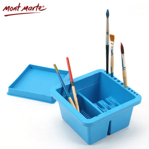 Mont Marte Brush Washing Bucket Multifunction Wash Pen Barrel Brush Washer Art tools