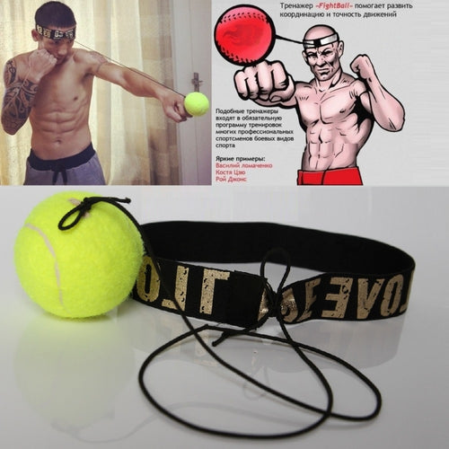 Fight BallPunching Ball Boxing Equipment Training Speed Fast Ball Gym