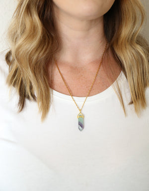Energy Cleaning Necklace - Carolyn Hearn Designs