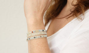 Purpose Wrap Bracelet - Carolyn Hearn Designs