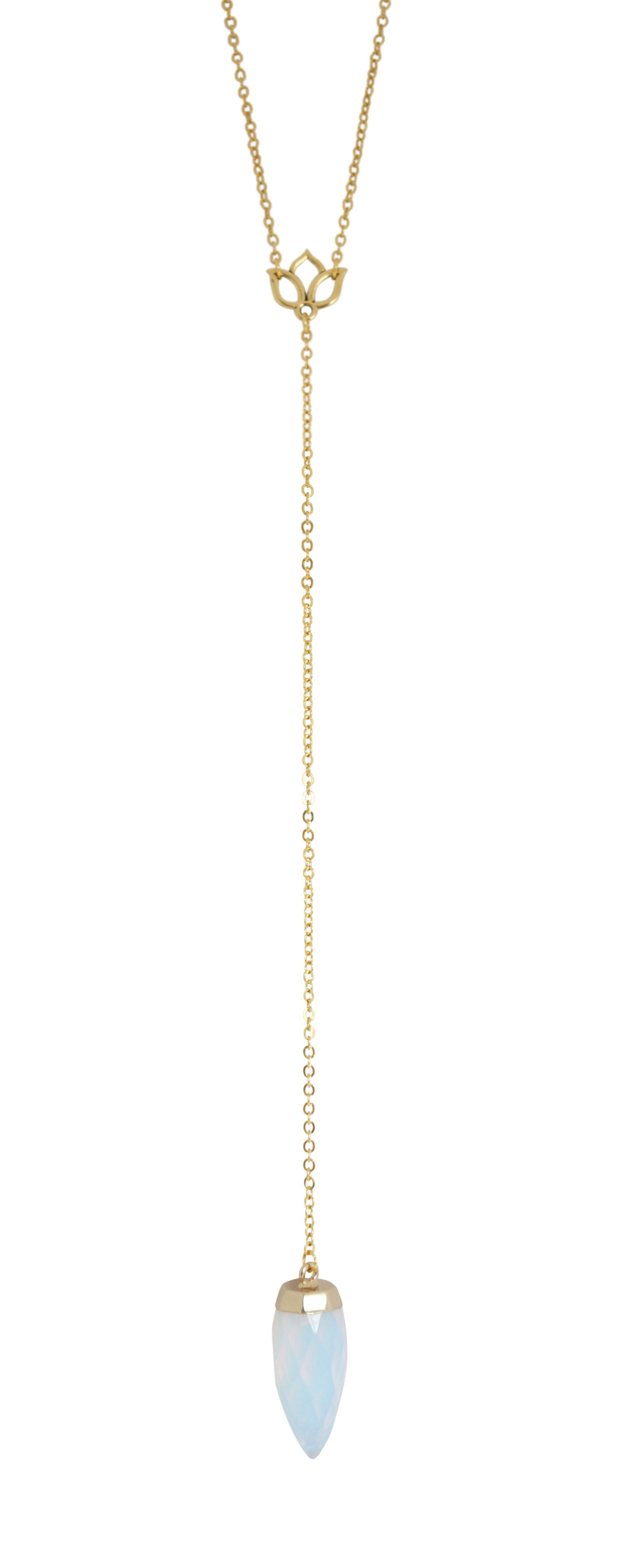 Tranquil Lariat Necklace - Carolyn Hearn Designs