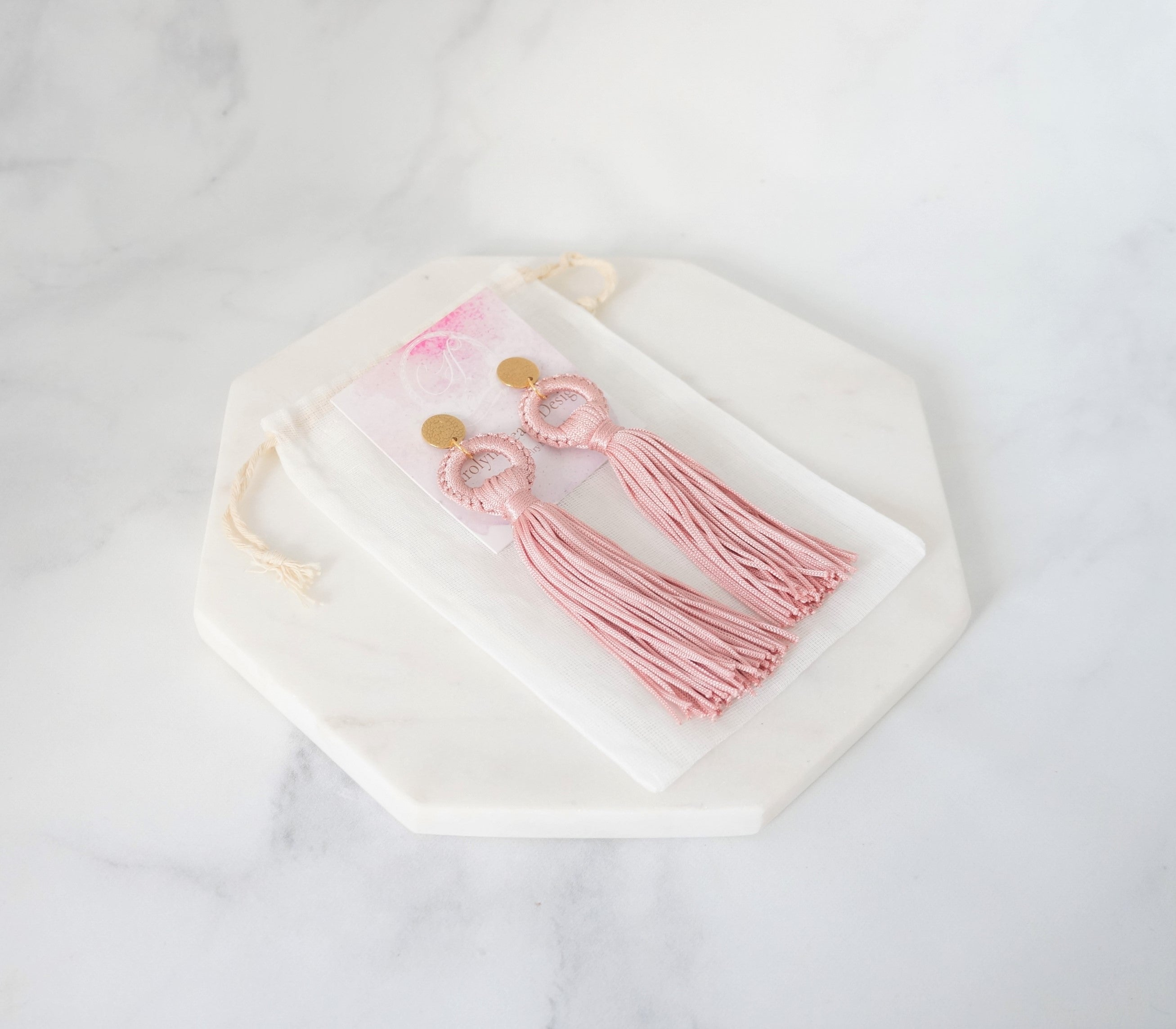 Blush Earrings - Carolyn Hearn Designs