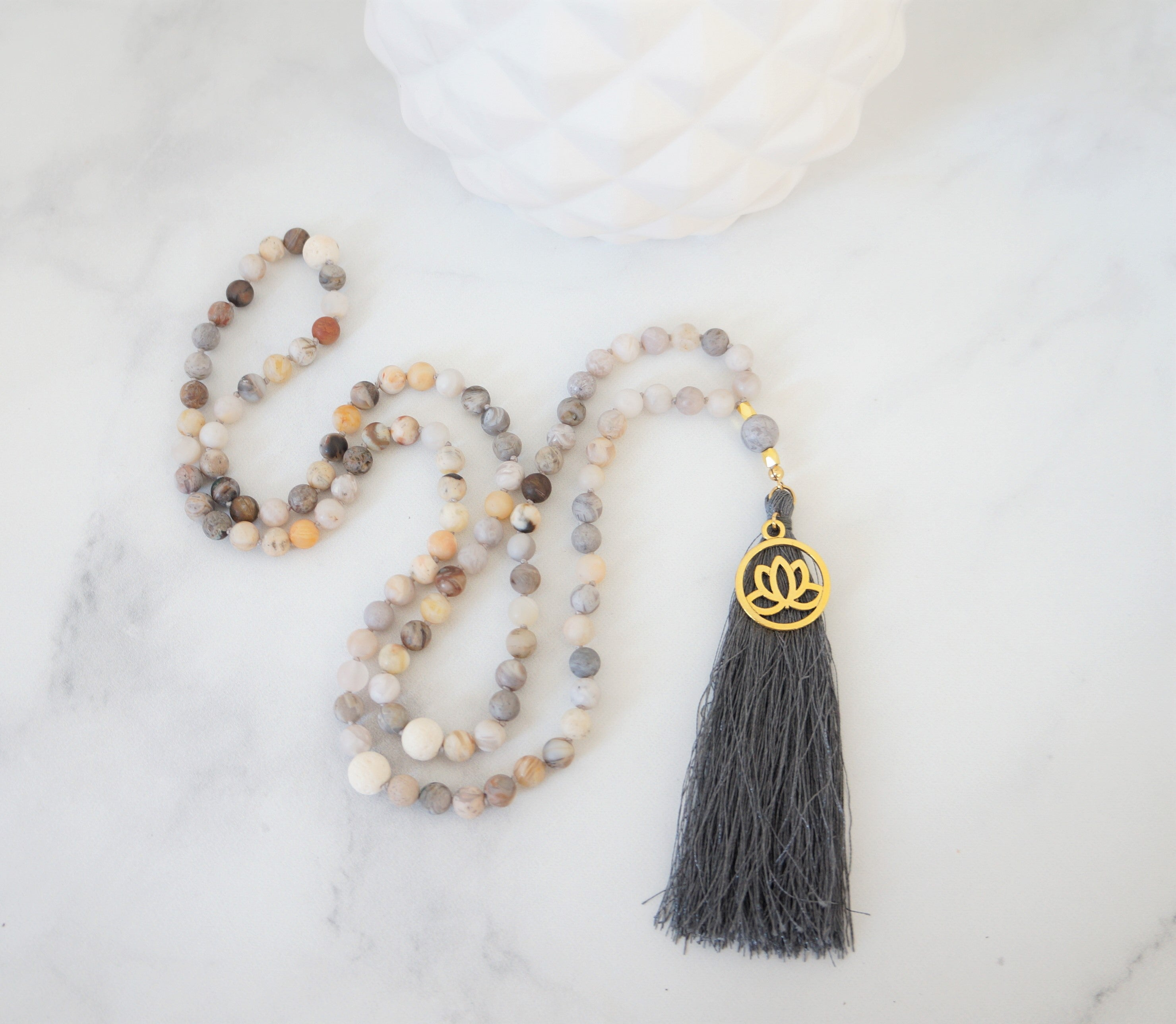 Harmony Mantra Mala - Carolyn Hearn Designs