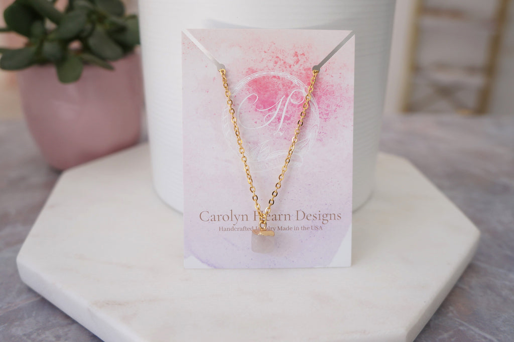 Loved Necklace for Fashion Crate - Carolyn Hearn Designs