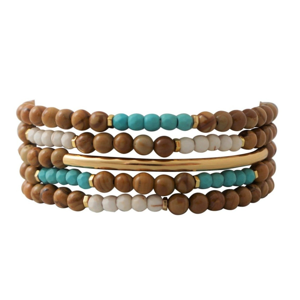 Connection Bracelet Stack