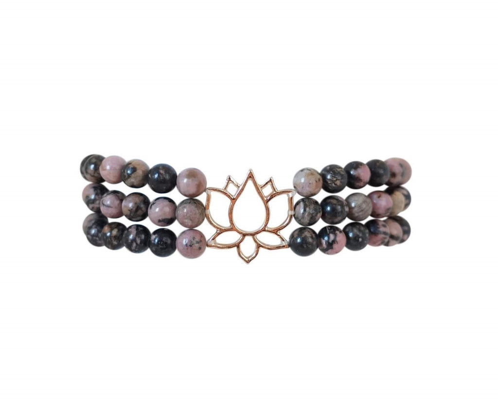 Power Lotus Bracelet - Carolyn Hearn Designs