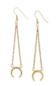 Moon Earrings - Carolyn Hearn Designs