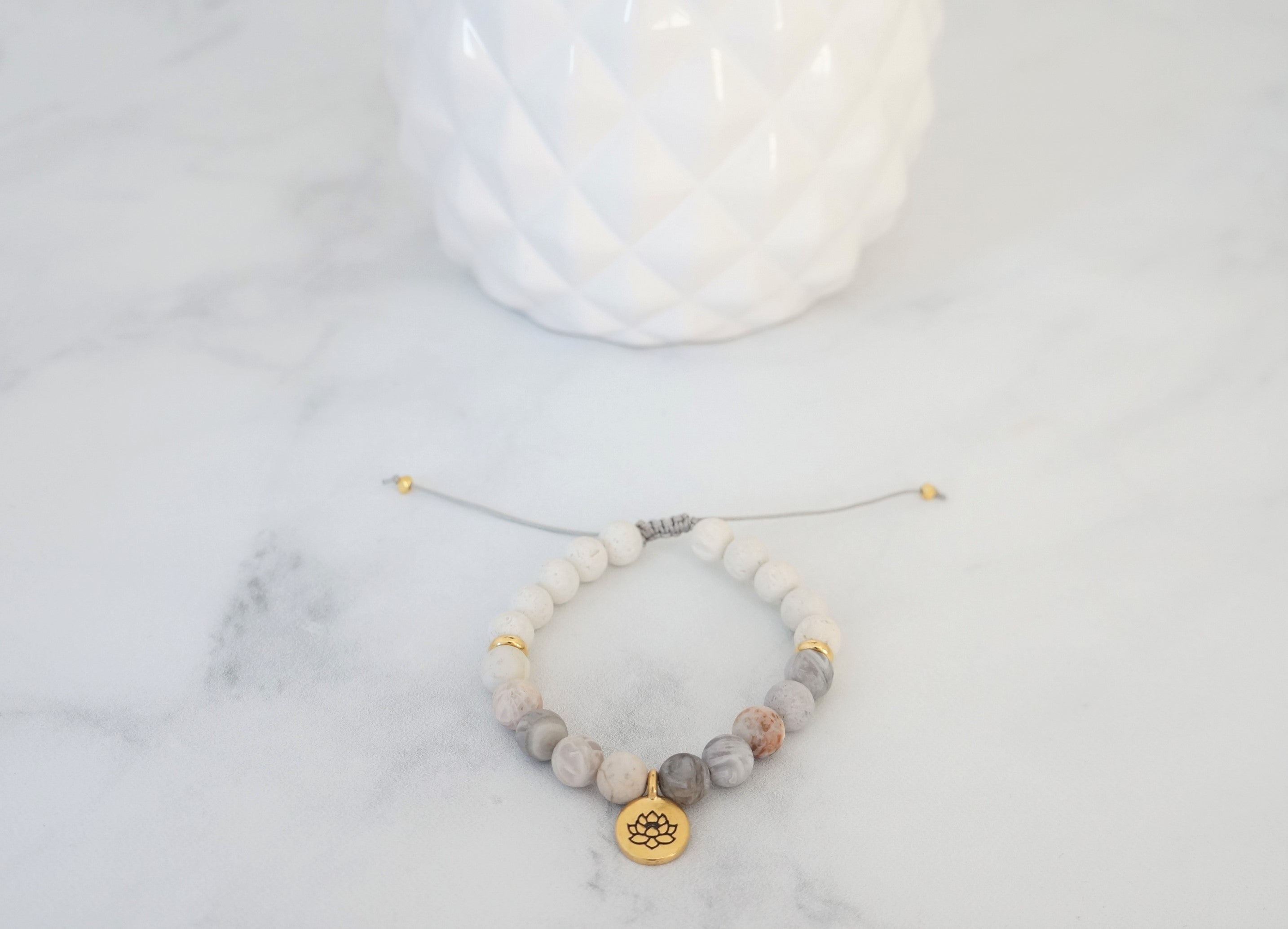 Essential Oil Creativity Bracelet - Carolyn Hearn Designs