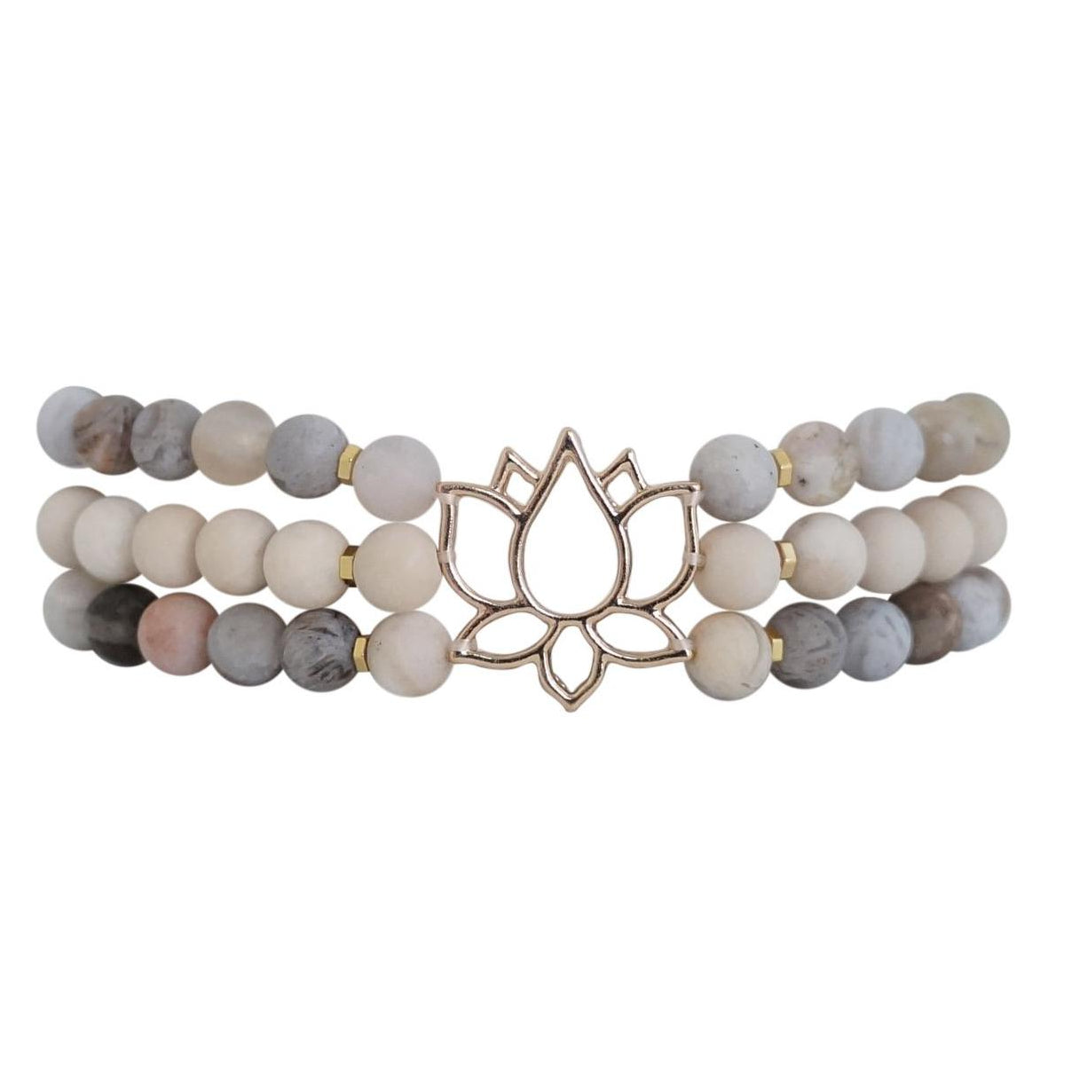 Protection Lotus Bracelet - Carolyn Hearn Designs