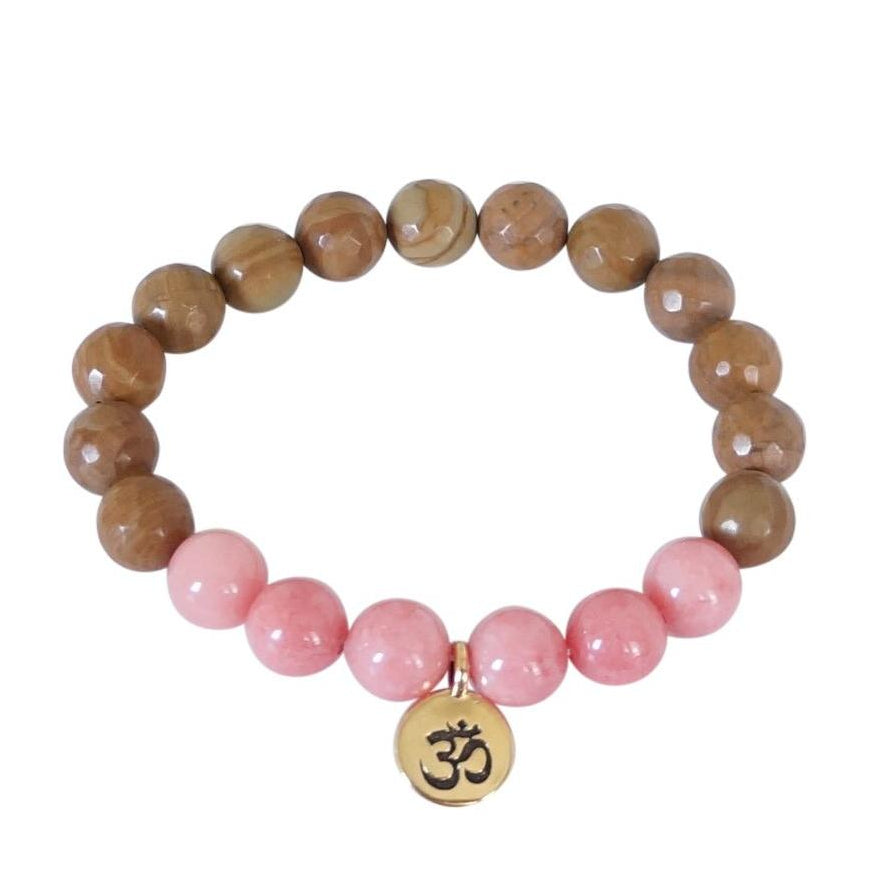 Energy Om Bracelet - Carolyn Hearn Designs