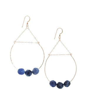 Trust Hoop Earrings - Carolyn Hearn Designs