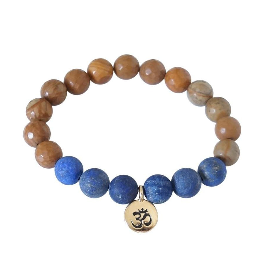 Trust Om Bracelet - Carolyn Hearn Designs