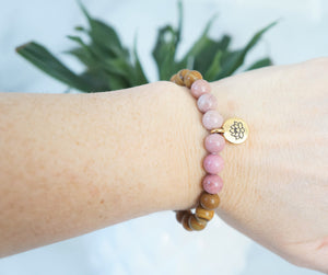 Love Lotus Bracelet - Carolyn Hearn Designs