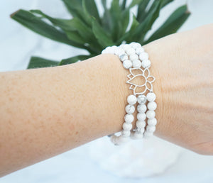 Soothing Lotus Bracelet - Carolyn Hearn Designs