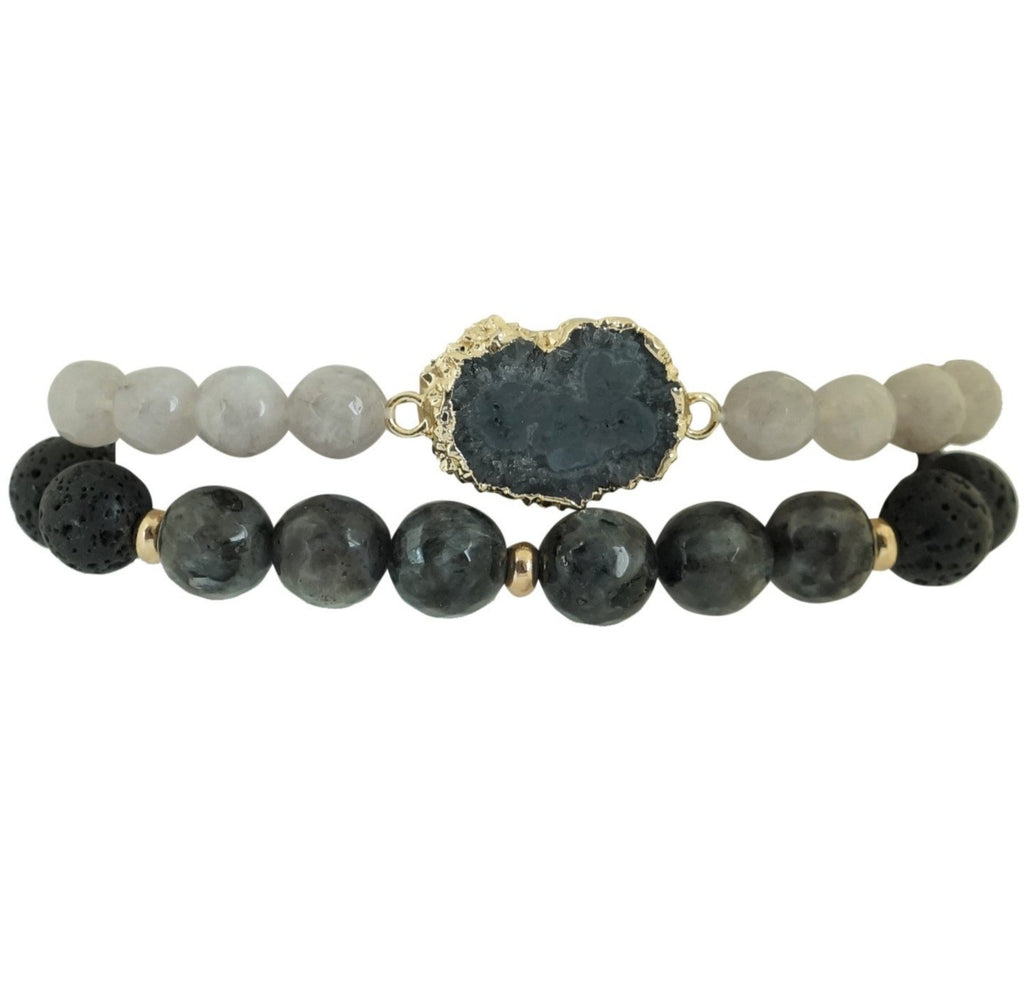 Power Essential Oil Bracelet Stack