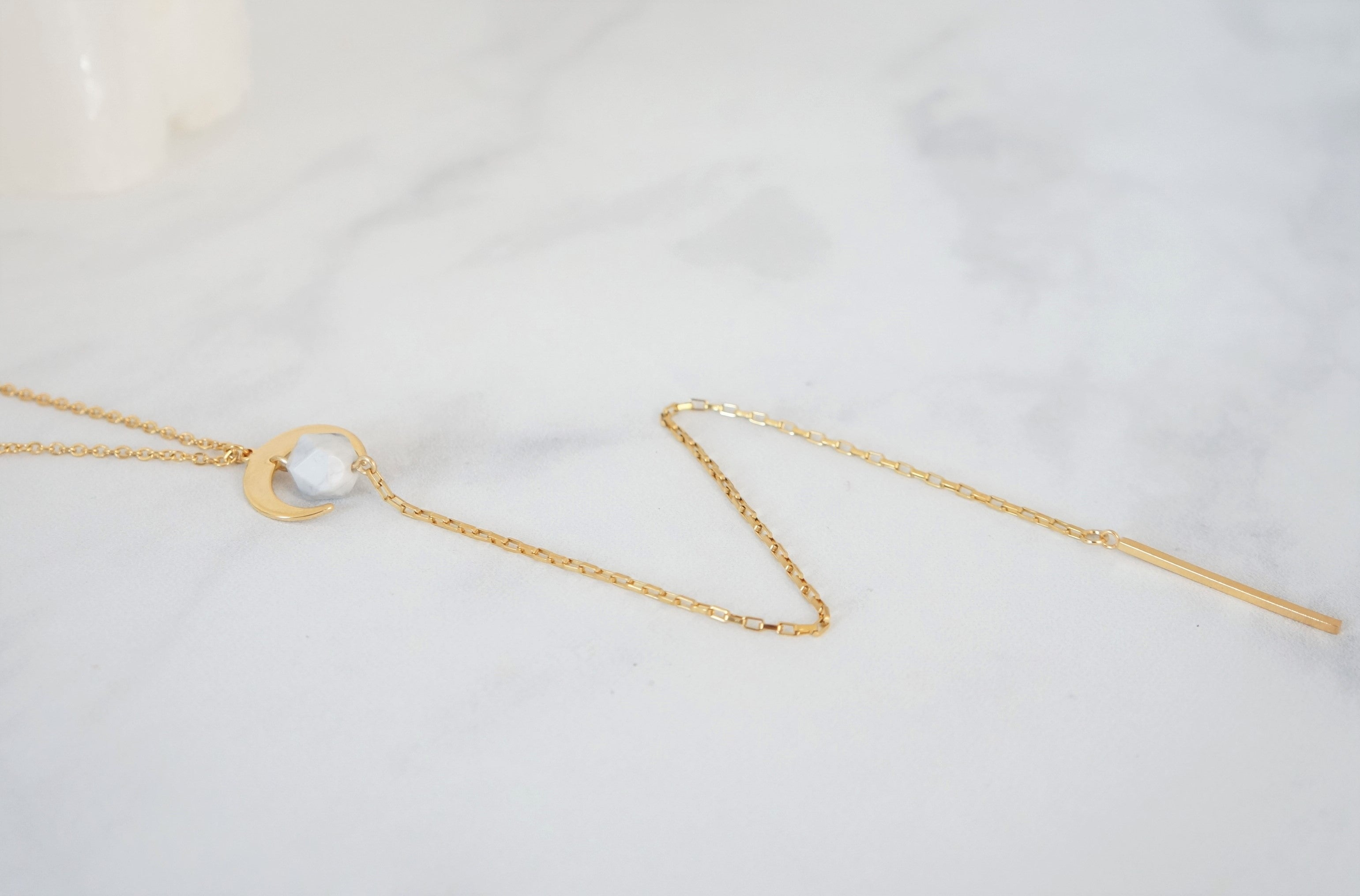 Hope Lariat Necklace - Carolyn Hearn Designs