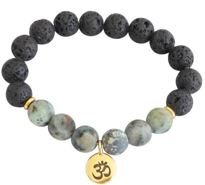 Essential Oil Om Bracelet
