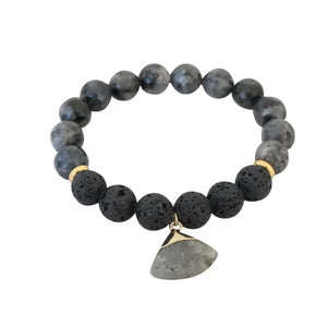 Essential Oil Renew Bracelet - Carolyn Hearn Designs