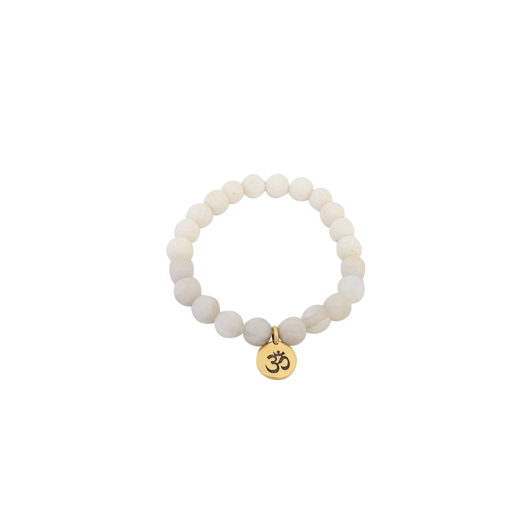 Essential Oil Om Bracelet - Carolyn Hearn Designs