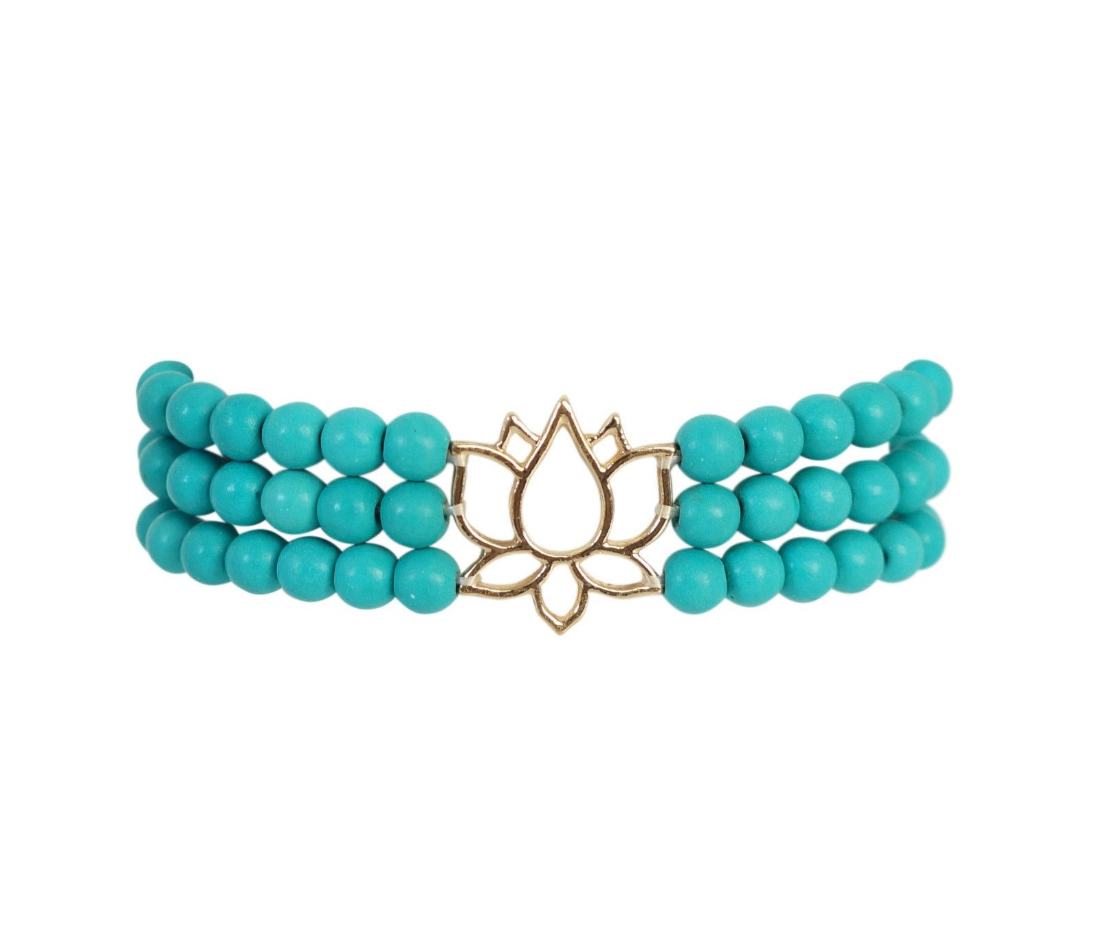 Connected Lotus Bracelet - Carolyn Hearn Designs