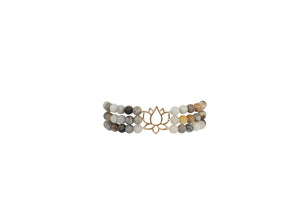 Grounded Lotus Bracelet - Carolyn Hearn Designs