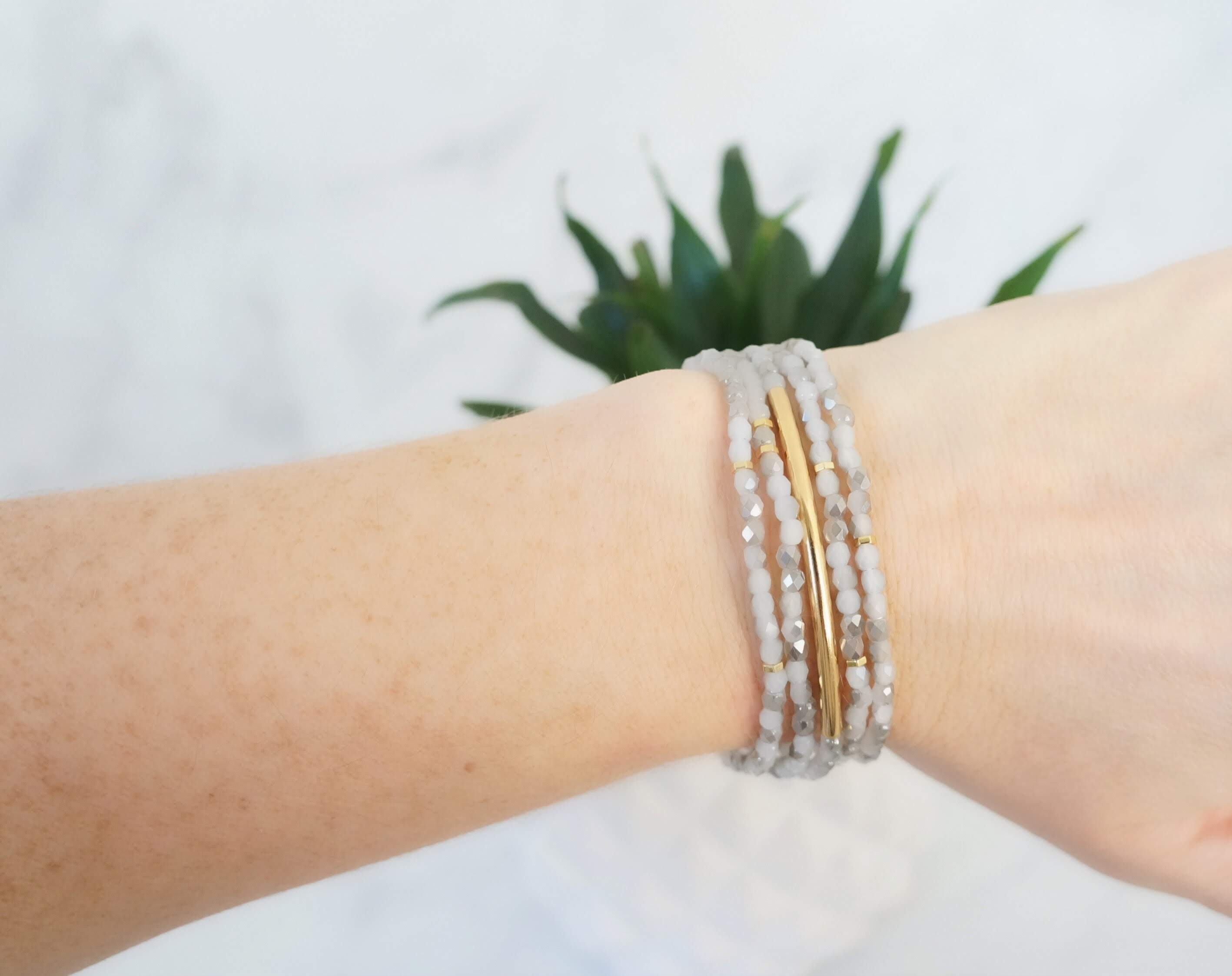 Blissful Bracelet Stack - Carolyn Hearn Designs