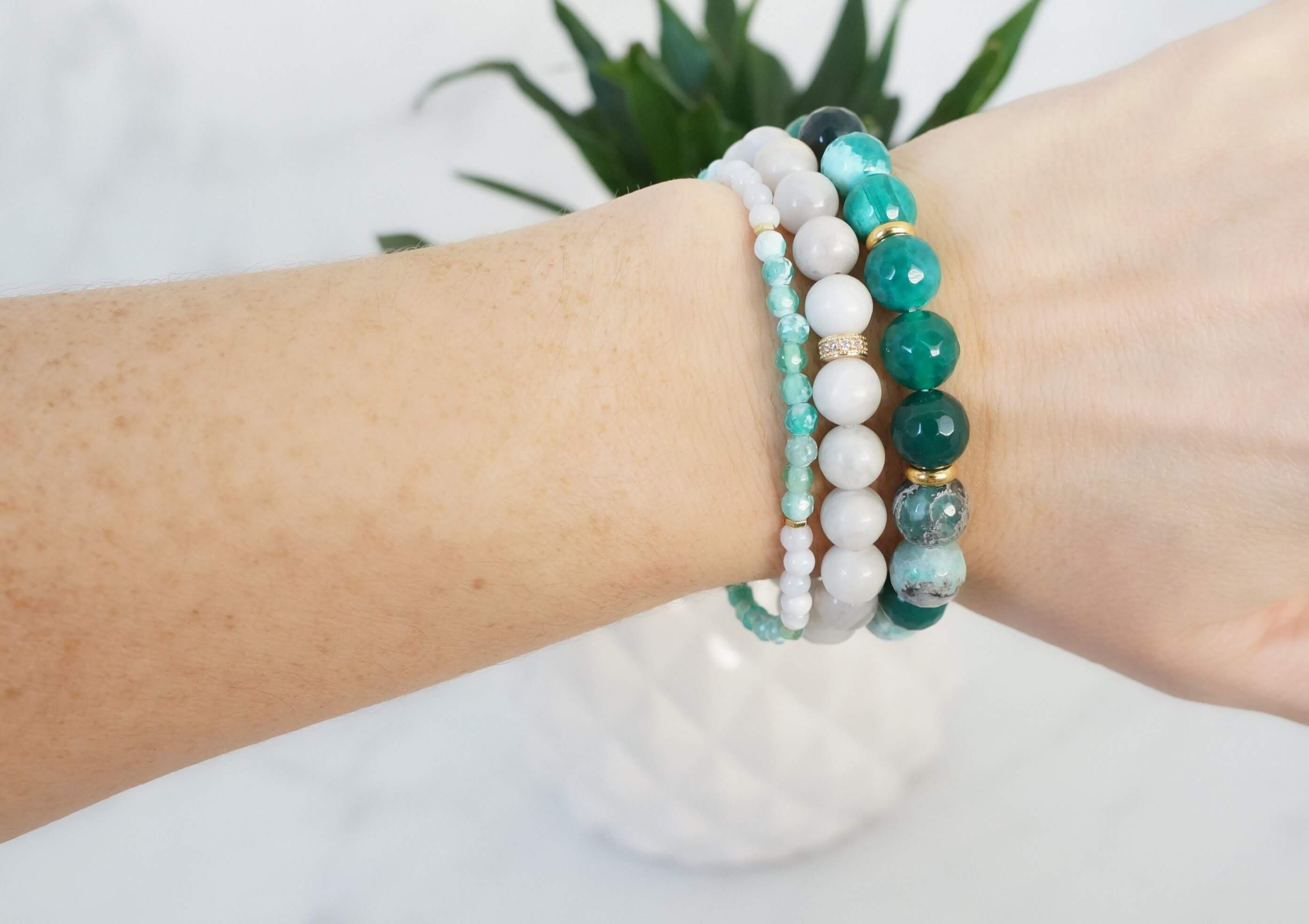 Thrive Bracelet Stack - Carolyn Hearn Designs