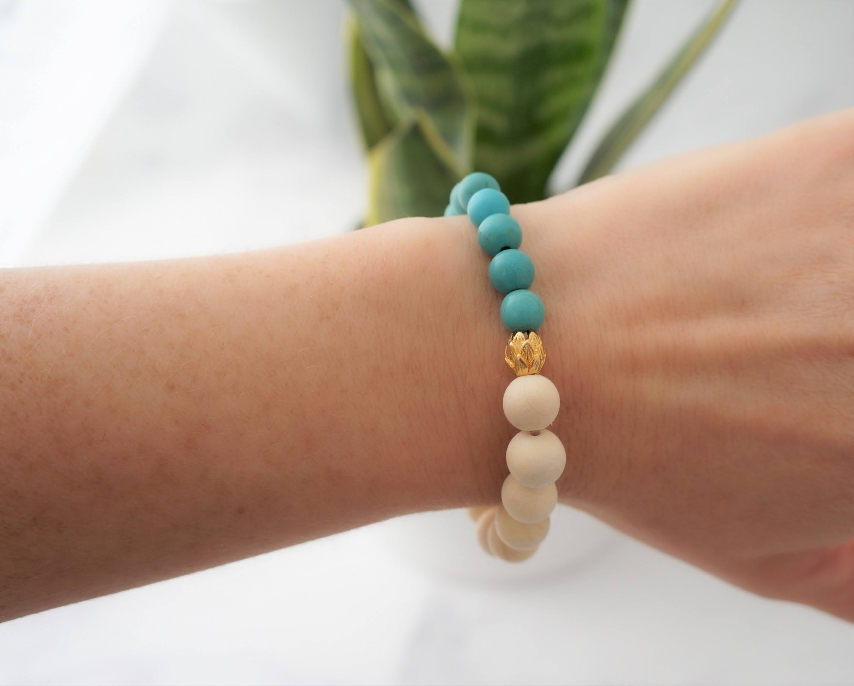 Essential Oil Hopeful Bracelet