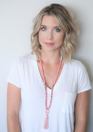 Essential Oil Blush Mala