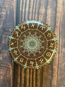 Small zodiac candles in *Traveling soul*