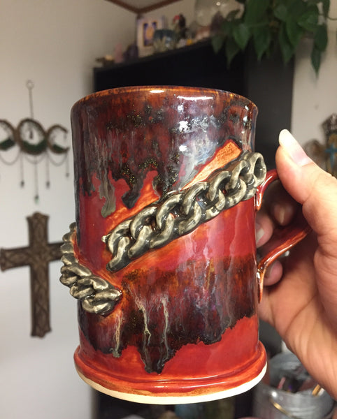 My chains are gone mug