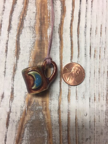 Tiny mug necklace