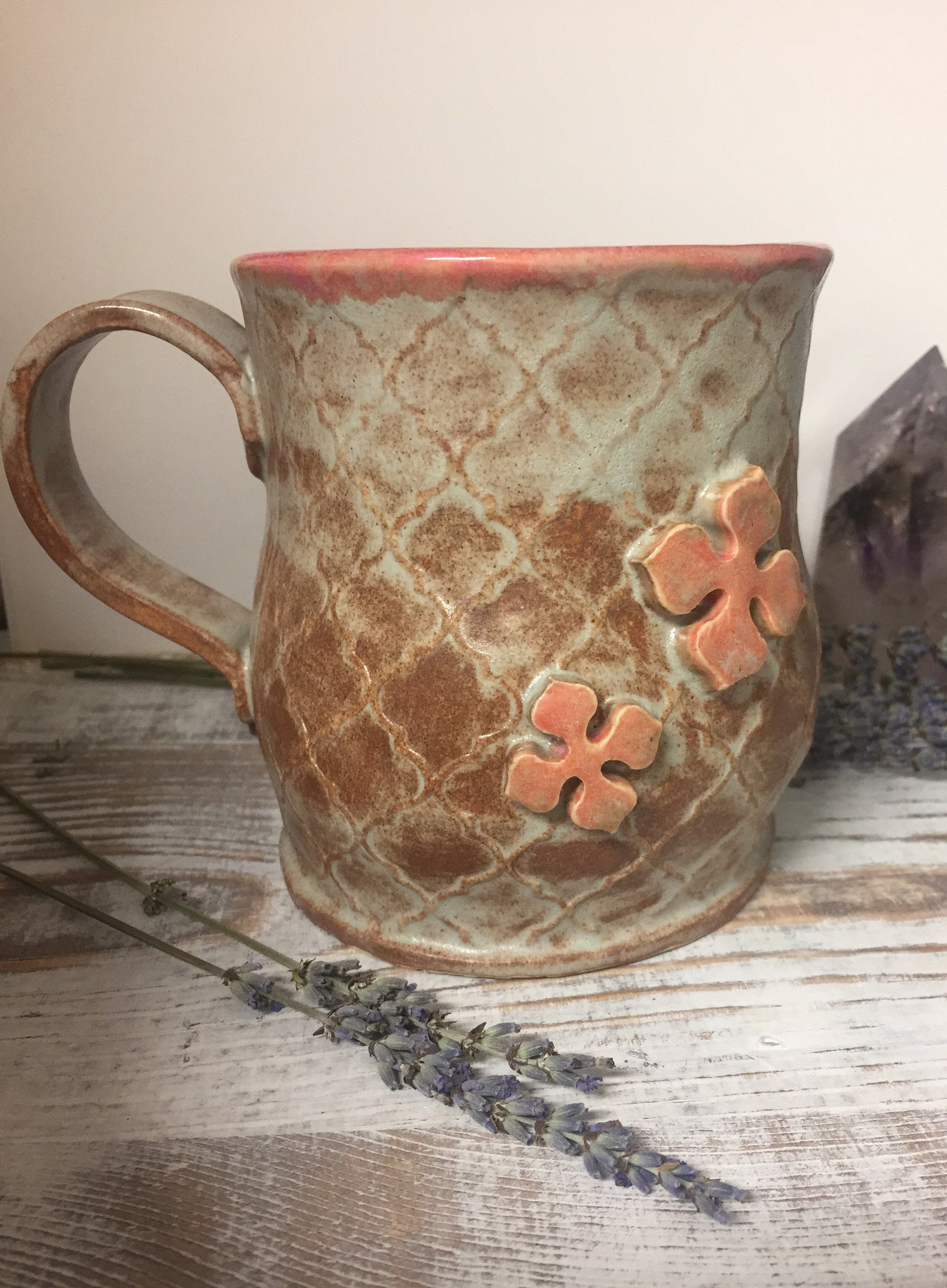 Pink Sandstone colored Mug