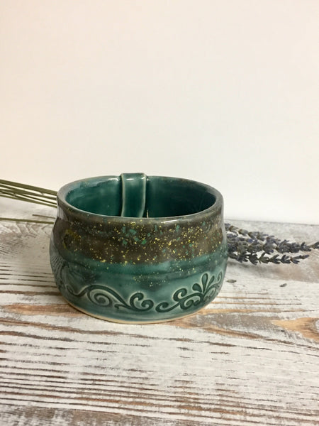 Green matcha bowl/cup