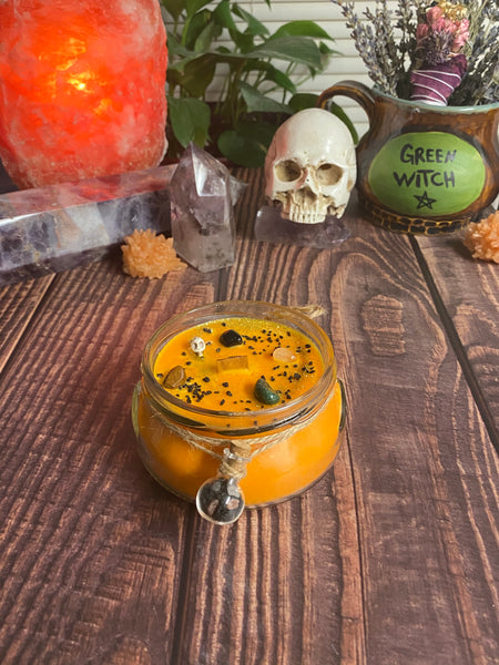 Wicked Wizard's Magical Chai Latte candle