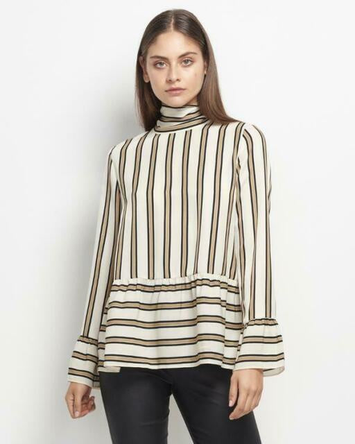 Adela Stripe Blouse