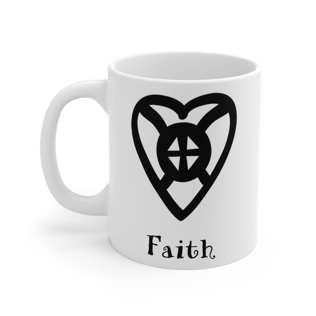 Adinkra Mug- FAITH