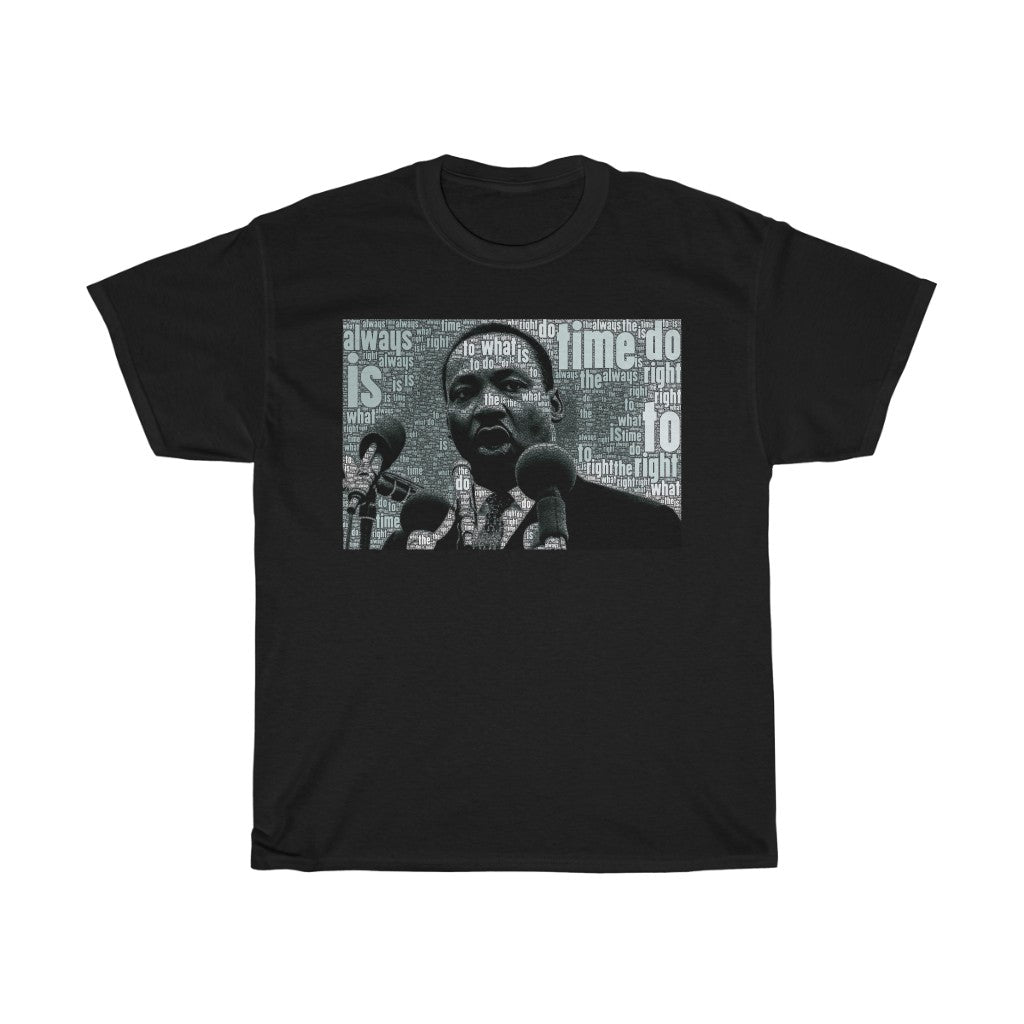 MARTIN LUTHER KING JR - Unisex Heavy Cotton Tee