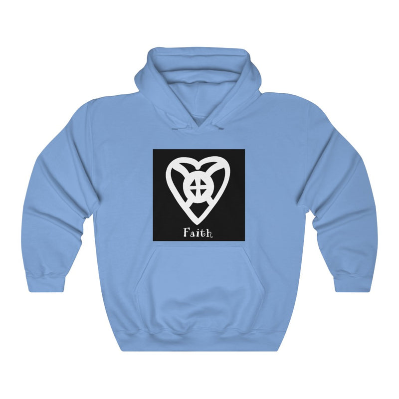 FAITH - ADINKRA  Unisex Heavy Blend™ Hooded Sweatshirt