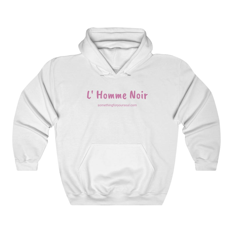 L' HOMME NOIR Unisex Heavy Blend™ Hooded Sweatshirt