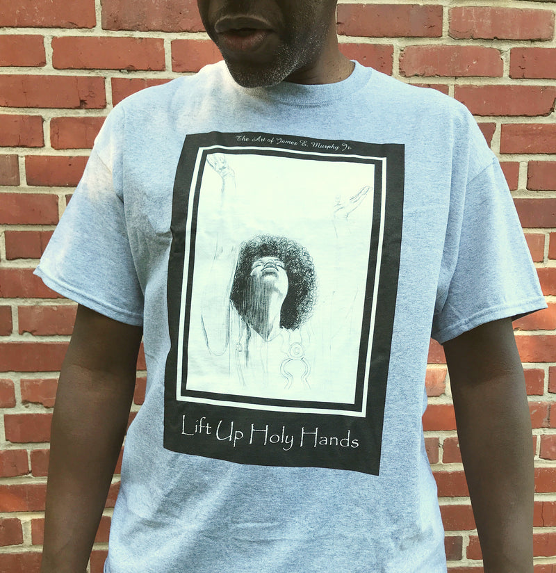 LIFT UP HOLY HANDS - Unisex Ultra Cotton Tee