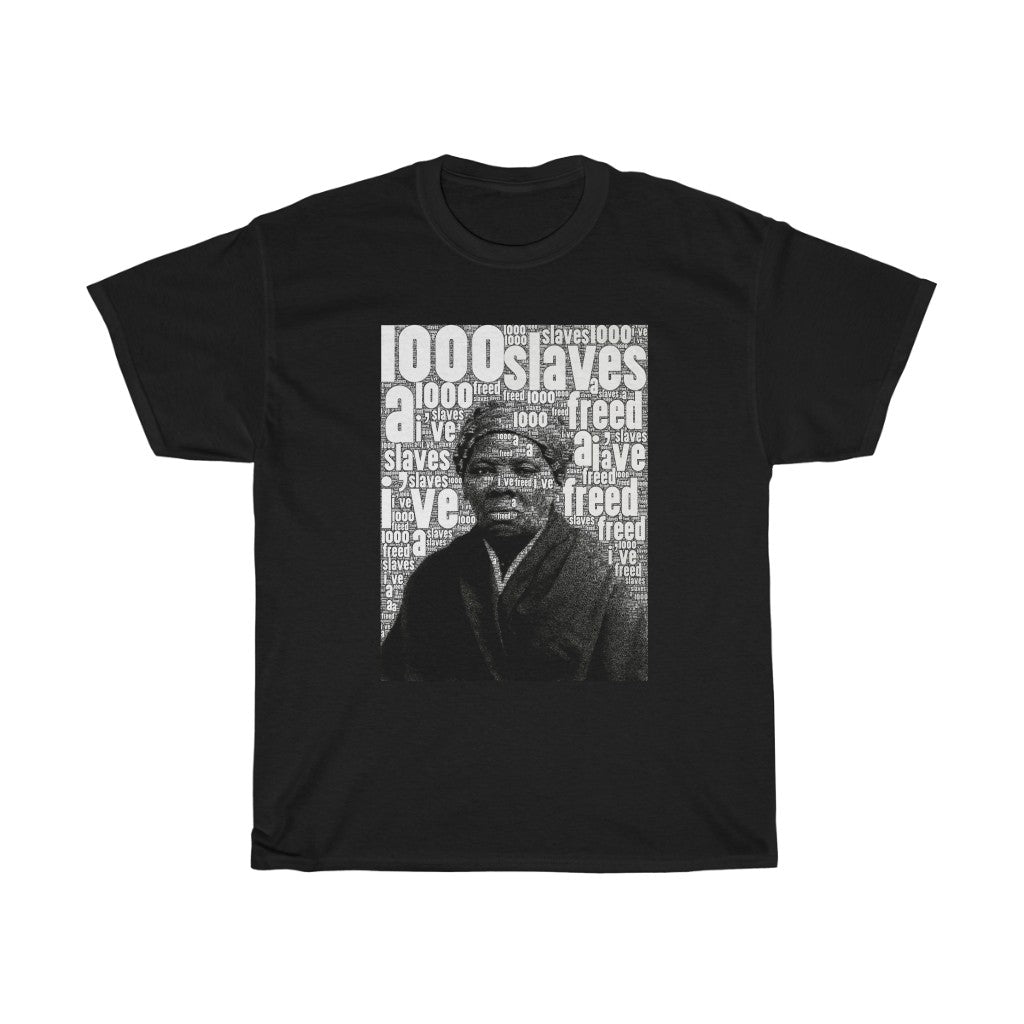 HARRIET TUBMAN - Unisex Heavy Cotton Tee