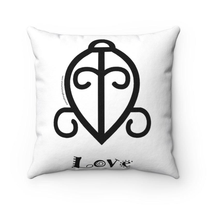 Adinkra Pillow- LOVE