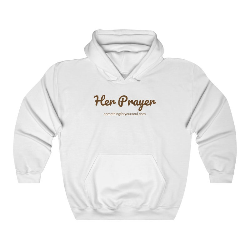 HER PRAYER Unisex Heavy Blend™ Hooded Sweatshirt