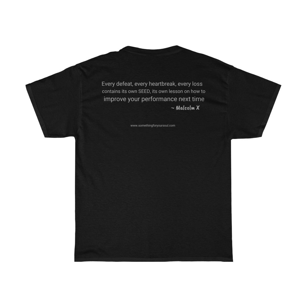 MALCOLM X - Unisex Heavy Cotton Tee